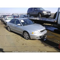 2001 Audi S4 damaged front 2.7 automatic silver for parts