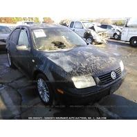 2001 Volkswagen Jetta 1.9 tdi fire damage for parts