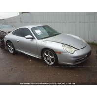 2002 Porsche 911 3.6 coupe light engine fire for parts
