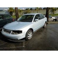 1999 Volkswagen Passat silver 2.8 automatic damaged side for parts