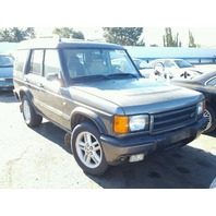 2002 Land Rover Discovery 3.9 automatic mechanical damage for parts