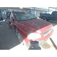 2006 Volvo XC90 2.5 automatic red roll over damage for parts