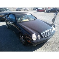 2003 Mercedes CLK430 convertible damaged rear black 4.3 automatic for parts