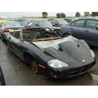 2000 XK8 jaguar CONV 2DR/BLACK FIRE DAMAGE FOR PARTS
