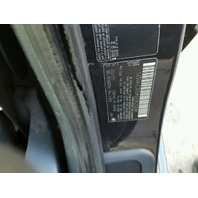 2002 M5 BMW SDN4DR/BLUE FRONT DAMAGED FOR PARTS