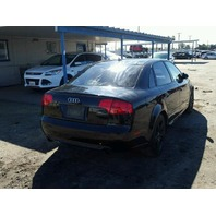 2008 AUDI A4 SDN 4DR/BLACK FOR PARTS