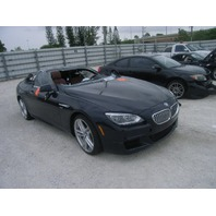 2012 650I BMW CPE 2DR/BLACK FOR PARTS