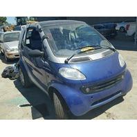 2000 SMART CAR BLUE FOR PARTS