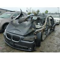 2012 740LI BMW SDN 4DR/BLACK FIRE DAMAGE FOR PARTS