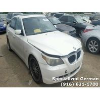 2006 BMW 525i White Sedan For Parts