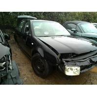 2000 Volkswagen Jetta Sedan Black Damaged Front