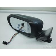 00 01 02 Jaguar S-Type Door Mirror Blue Left Driver Peeling Xr810708