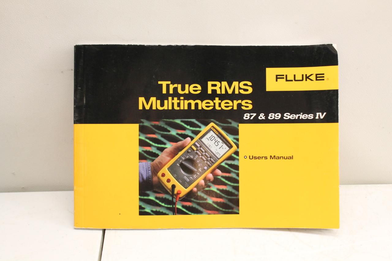fluke 89 iv manual
