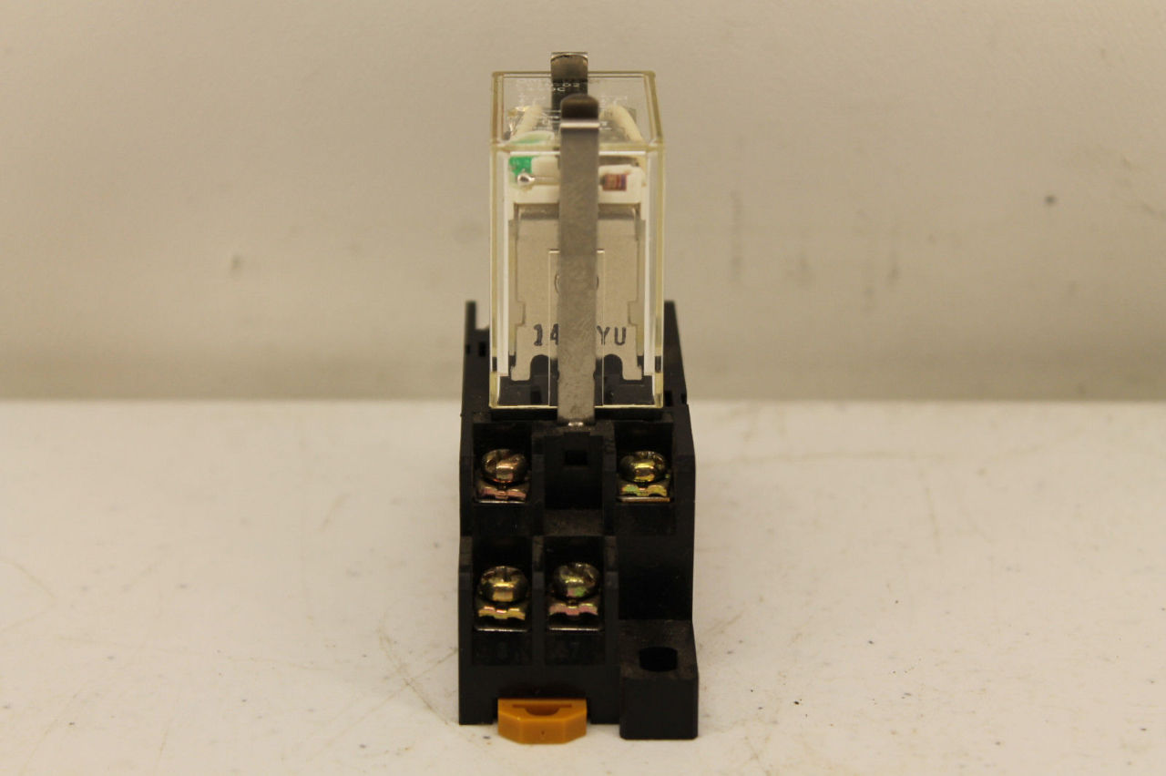 Cooper Electric Supply >> Omron LY2N-D2 Relay with Base PYC-A1   PLC Surplus Supply, LLC