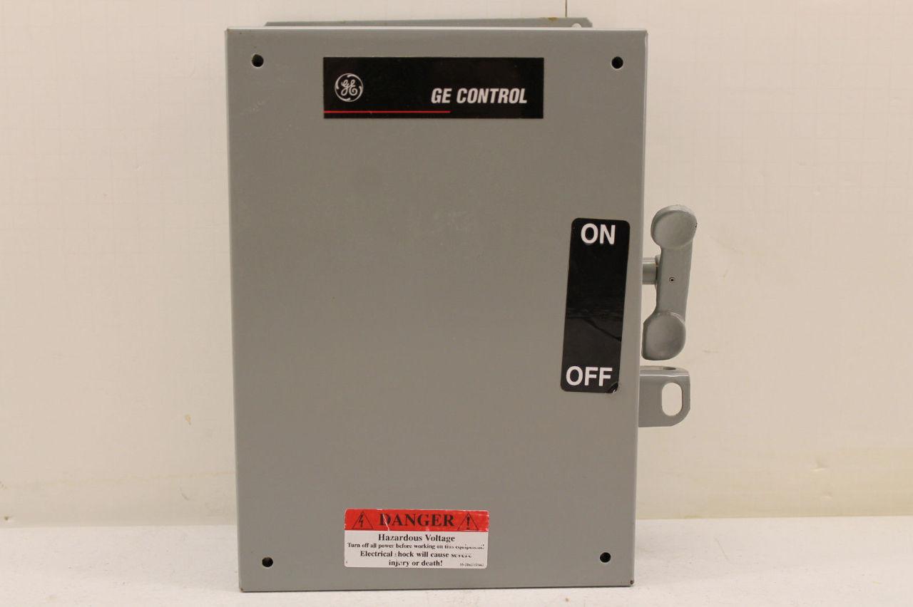 Ge cr1062r3aat3000 manual motor starter plc surplus for Ge manual motor starter