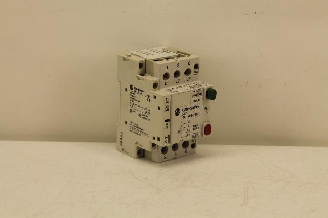 Allen bradley 140 mn 0250 manual motor starter plc for Allen bradley manual motor starter