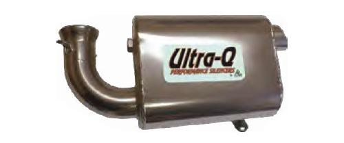 Ultra-Q Silencer for Ski-Doo GSX LE 600 HO E-TEC 2010-2012
