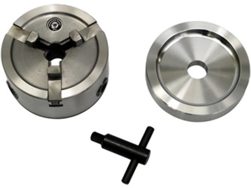 """Quick Chuck Adapter Kit - 1"""" arbor brake lathes, for Rotors with centering holes"""