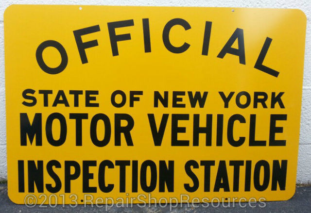 new york state dmv official motor vehicle inspection