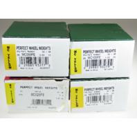 100 Pcs MC Style Wheel Weight Assortment 0.25 - 1.00 ounce