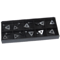 (10) Replacement bits and screws - Positive Rake, PRO CUT OCL on car brake lathe