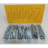 Cotter Pin Assortment Set 1000 pieces 6 sizes