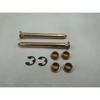 Ford F150 F250 F350 Bronco Door Hinge Pins Pin Bushing Kit ONE DOOR