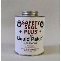Safety Seal Liquid Patch Tire Repair NO MECHANICAL BUFFING