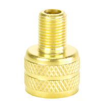 Large Bore to Standard Bore Tire Valve Adapter, Cap Style