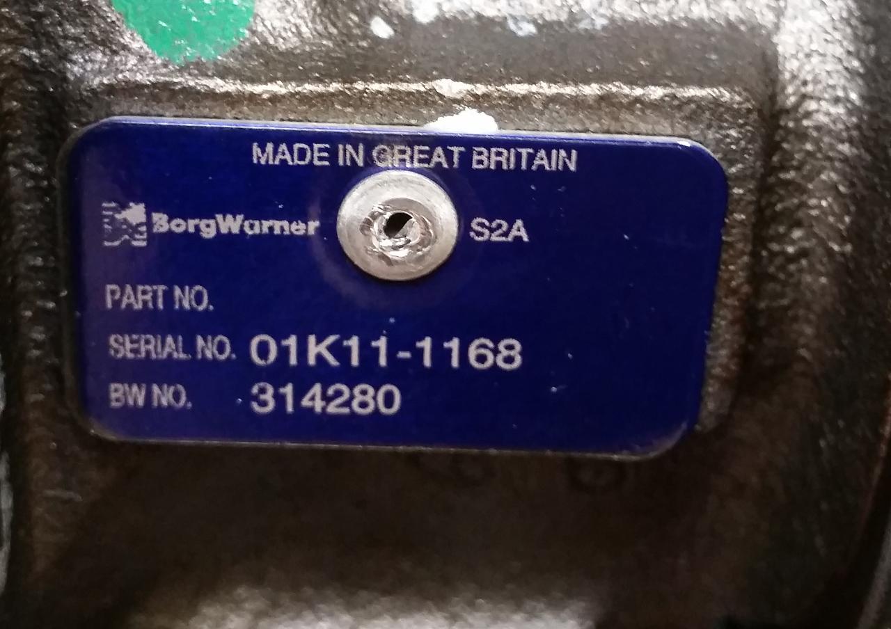 borg warner turbo serial number lookup