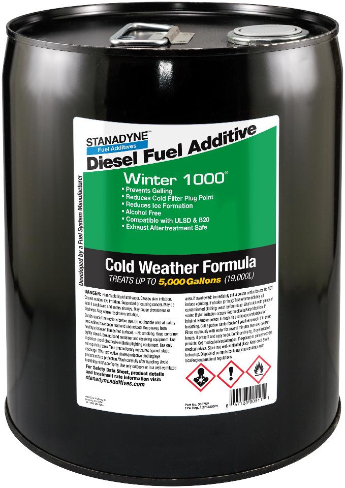 Stanadyne Winter 1000 | 5 gallon Pail - Treats 500 Gallons | Stanadyne # 38575