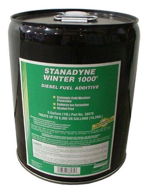 Stanadyne Winter 1000   5 gallon Pail - Treats 500 Gallons   Stanadyne # 38575