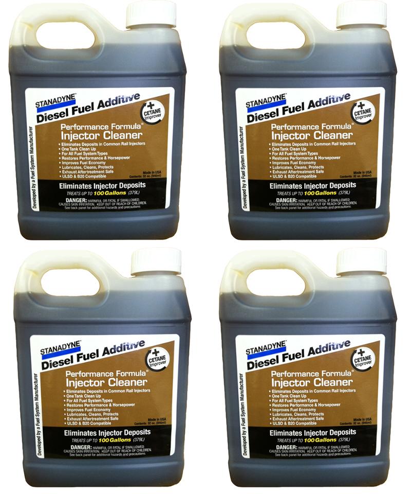 Stanadyne Diesel Injector Cleaner  | 4  Pack of  32 oz jugs | Stanadyne # 43566