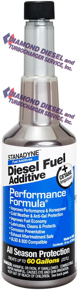 Best Fuel Additive >> Stanadyne Performance Formula Diesel Fuel Additive - One ...