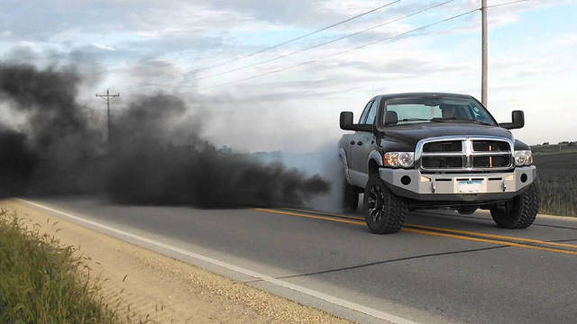 'Rolling coal' might be outlawed in Maryland