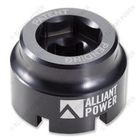 1994-2010 Navistar T444E, VT365, VT275, MaxxForce 5 / 7 - Fuel/Oil Filter Cap Socket Tool - Alliant Power # AP0147