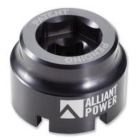 1994-2010 Navistar T444E, VT365, VT275, MaxxForce 5 / 7 - Fuel/Oil Filter Cap Socket Tool - Alliant Power # AP0147