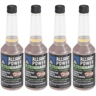 Alliant Power ULTRAGUARD Diesel Fuel Treatment - 4 Pack of Pints # AP0501