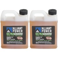 Alliant Power ULTRAGUARD Diesel Fuel Treatment - 2 Pack of 32 oz Jugs  # AP0502