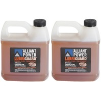Alliant Power LUBRIGUARD Diesel Fuel Treatment - 2 Pack of 1/2 Gallons # AP0511