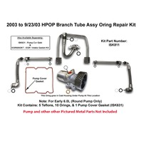 2003-09/23/03 HPOP Branch Tube Assembly O'Ring Repair Kit - Part# Bostech ISK811