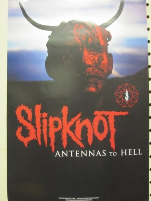 SLIPKNOT 2012 ANTENNAS TO HELL promotional poster ~NEW old ...