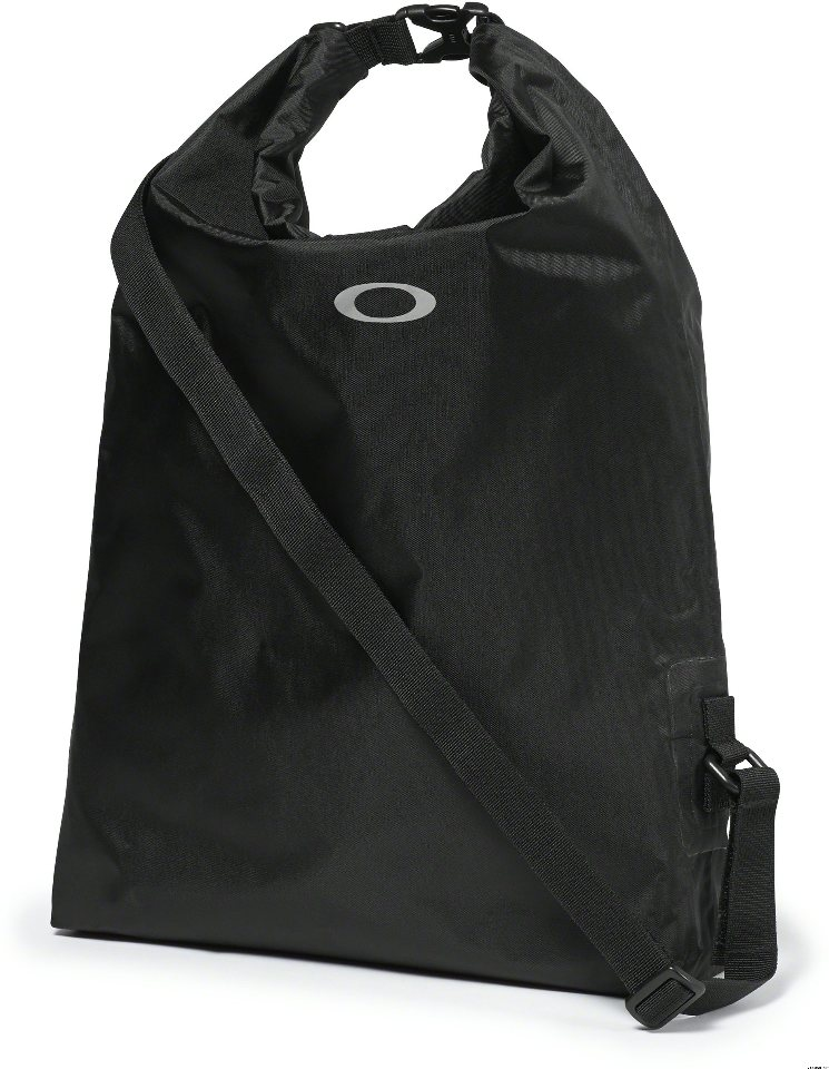 OAKLEY Dry Bag Backpack Beach Travel Bag 92902 Jet Black Free Ship New  w/tags