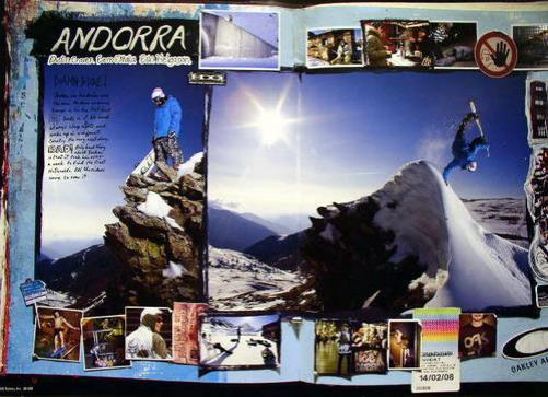 OAKLEY snowboard 2008 EERO ETTALA poster ~NEW&MINT~!!