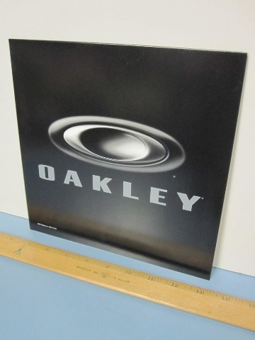 Oakley 2011 Foundation Logo dealer shop counter display New Old Stock Sweetness
