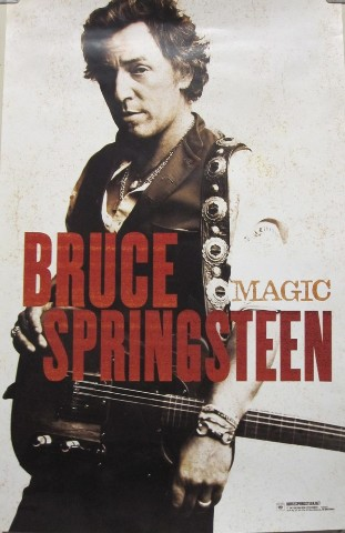 Bruce Springsteen 2007 Magic Promotional Poster Mint condition N.O.S.