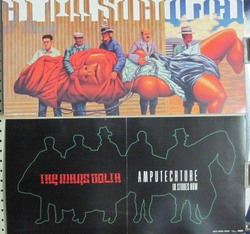 The Mars Volta 2006 Amputechture 2 Sided Promotional Poster New old stock