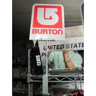 BURTON snowboard 2006 rare plexiglass promo display topper ~NEW oldstock & MINT~