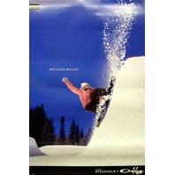 OAKLEY Gretchen Bleiler BIG snowboard banner ~NEW~!!