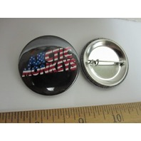 ARCTIC MONKEYS 2011 STARS AND STRIPES TOUR promotional badge/button ~NEW~!!
